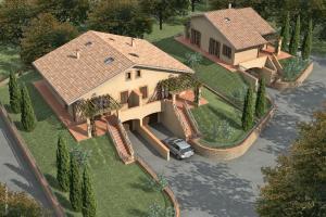 Vendita case ville appartamenti rustici e casali provincia for Piani di casa in collina con garage sottostante
